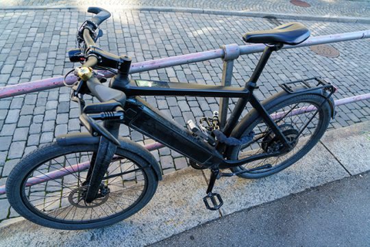 Elektrische fiets populair bij dievengilde
