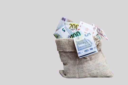Hoe hoger de lening, hoe lager de rente